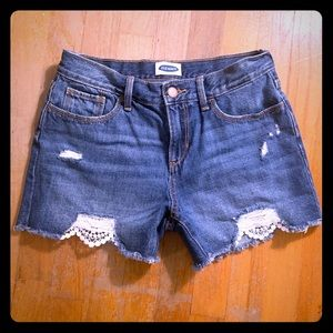 Girl's Old Navy Cutoffs